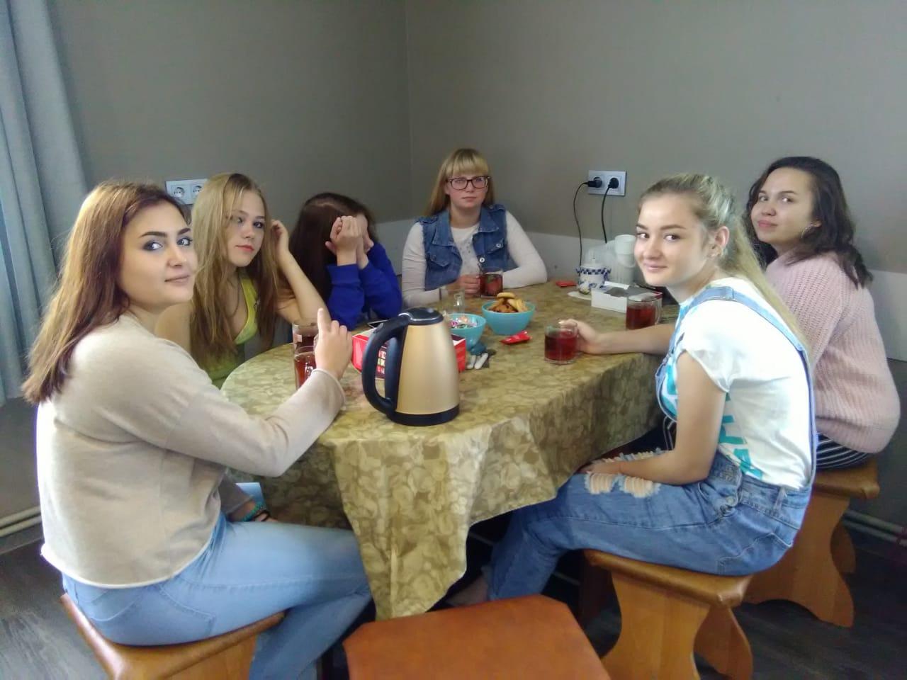 Встреча с волонтерами  - студентами