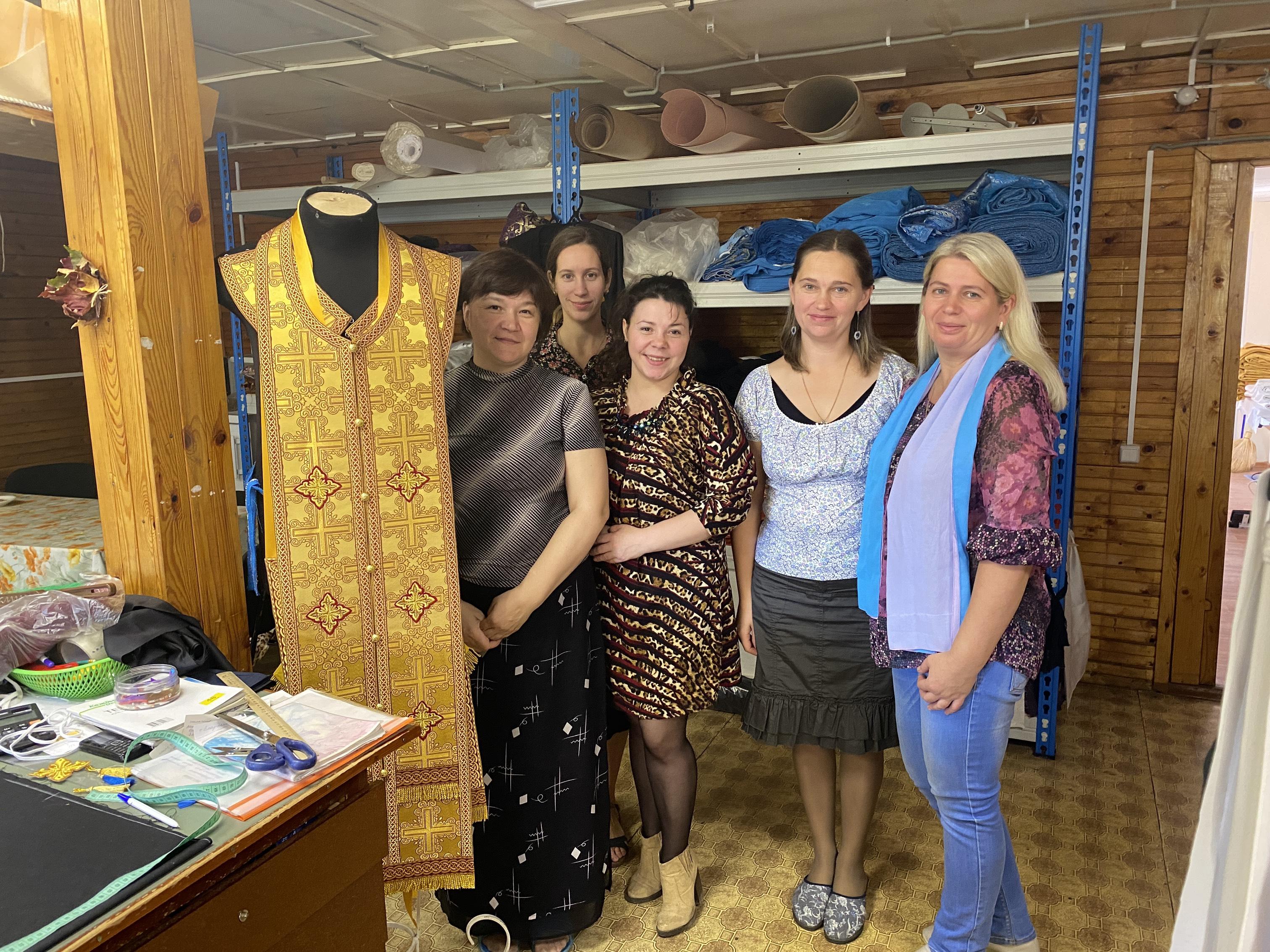 Швейная мастерская Храма
